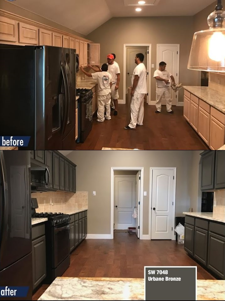 kitchen cabinet painting pittsburgh pa